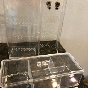 Acrylic Jewelry Containers